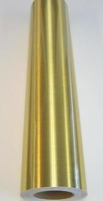 """Metallic Brushed Gold Plotter Sign Vinyl 24"""" x 6 ft in Business & Industrial,Printing & Graphic Arts,Sign Making Supplies 