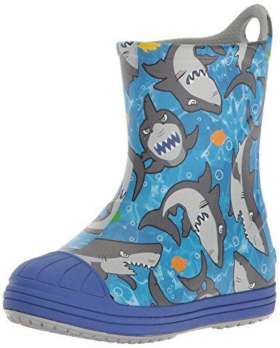 d212c6e7aeb crocs Kids  Bump It Graphic Rain Boot