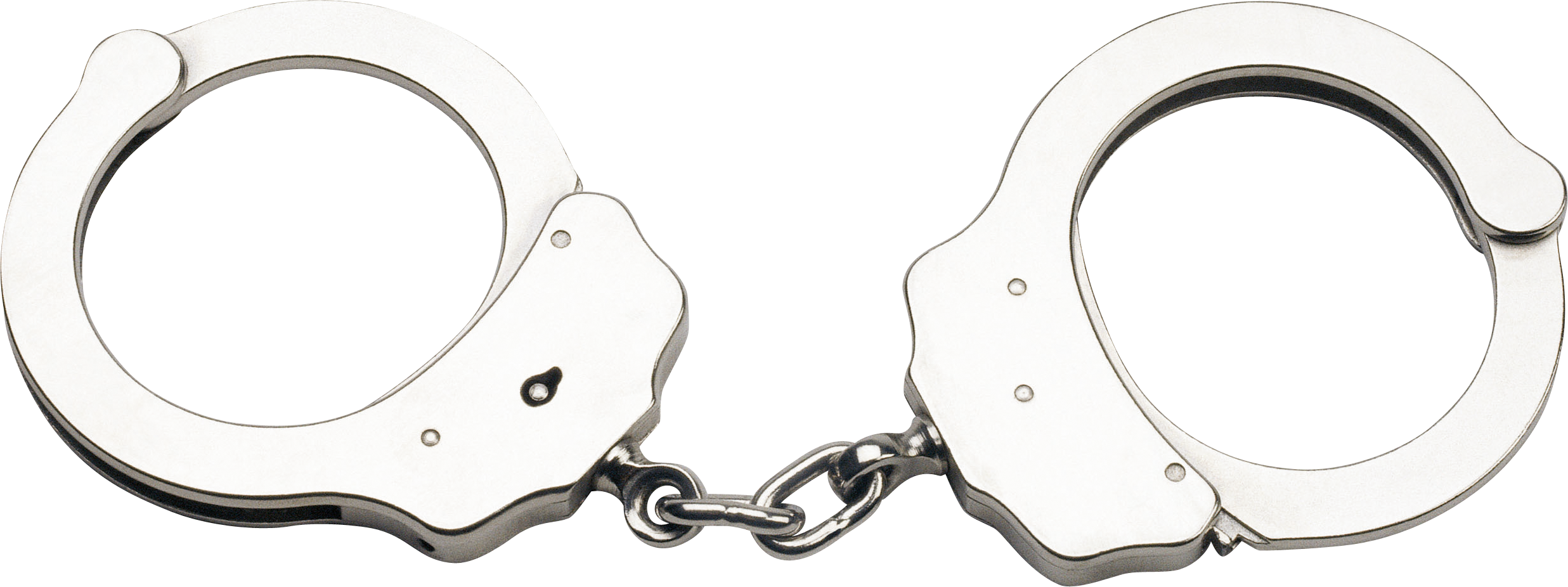 Silver Handcuffs Png Image Handcuffs Silver Double Lock