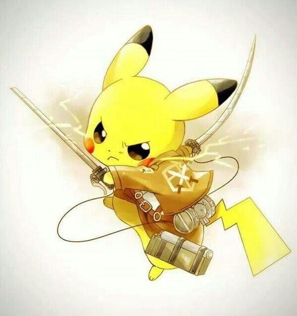 Attack on Pikachu | Electric Types | Pinterest | Pokémon ...