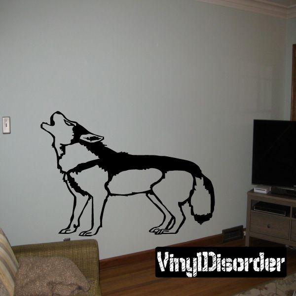 Dog Wall Decal - Vinyl Decal - Car Decal - DC070