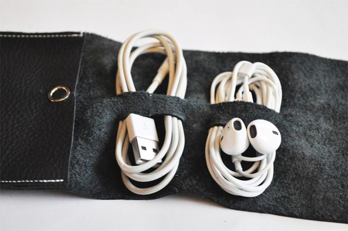 MAKE: DIY Cord Wrap. Keep your cables in one place ...