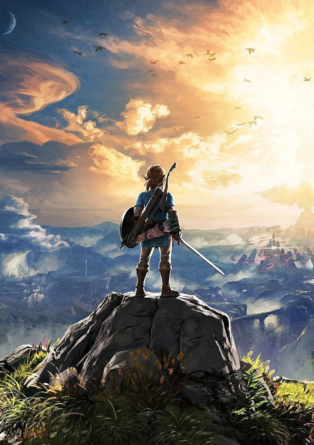 Königliche Küche Zelda The Legend Of Zelda Breath Of The Wild Poster Amazon De