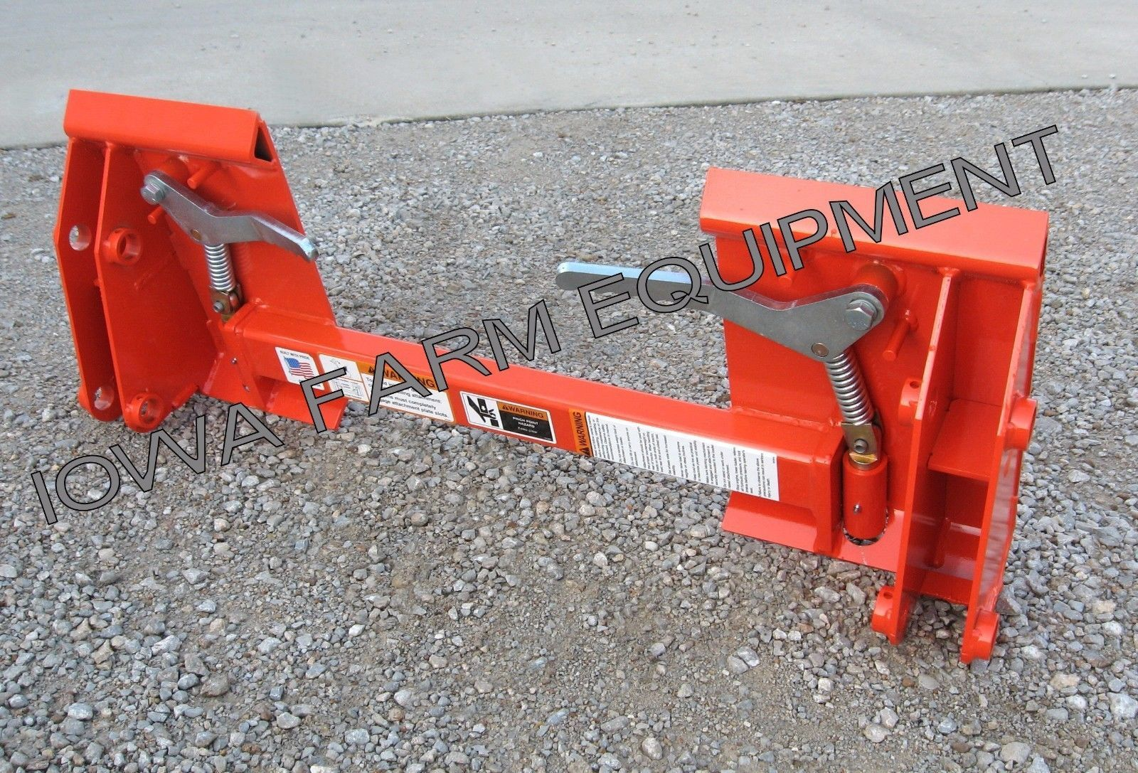 Details about Kubota Pin-On Loader to Skid Steer Quick