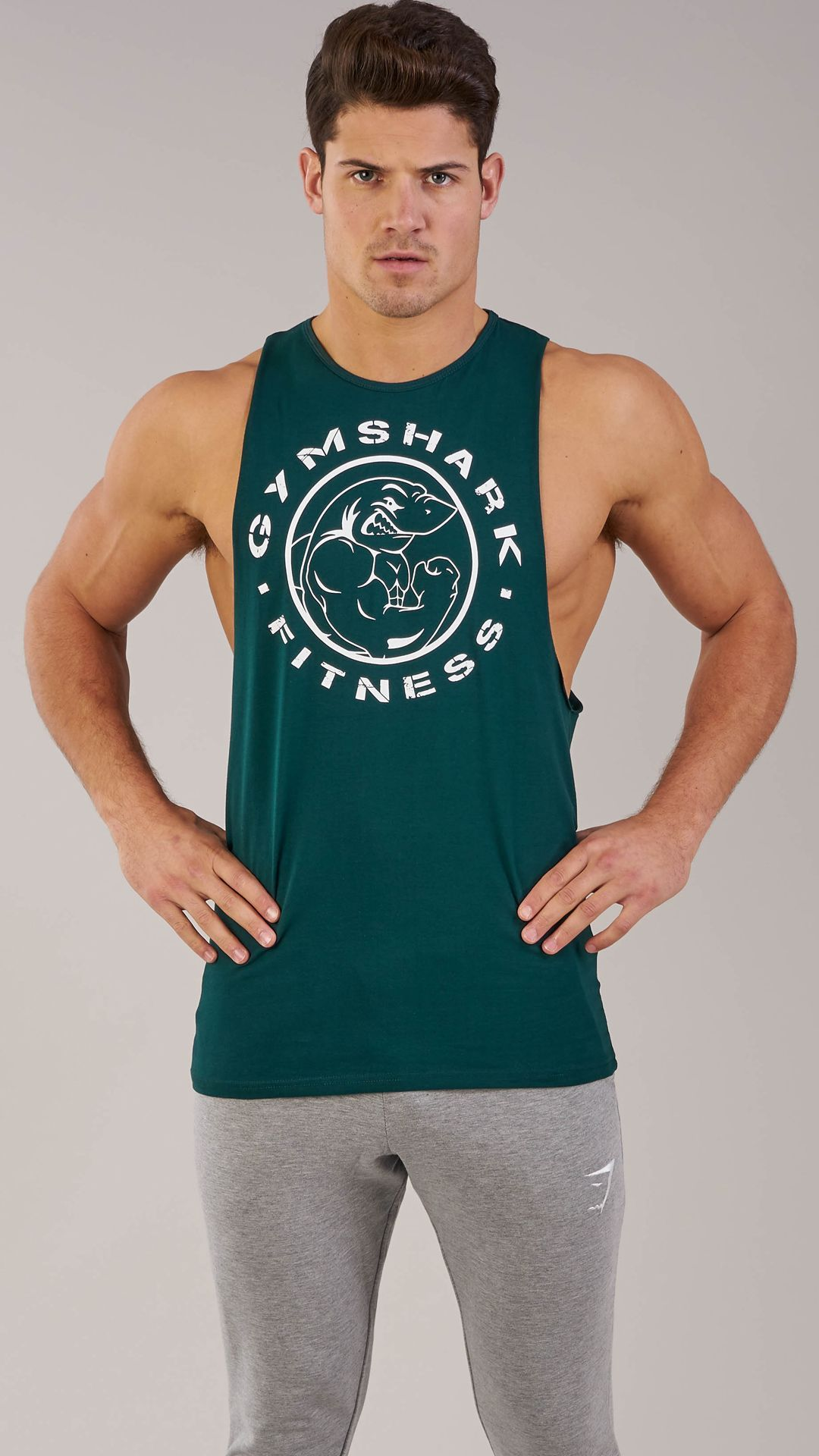 29a7504f26b479 Mens Bodybuilding Gym String Posing Tank Top New Gary Majdell Sport ...