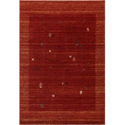 Photo of benuta Kurzflor Teppich Kamal Rot 120×170 cm – Moderner Teppich für Wohnzimmer benuta