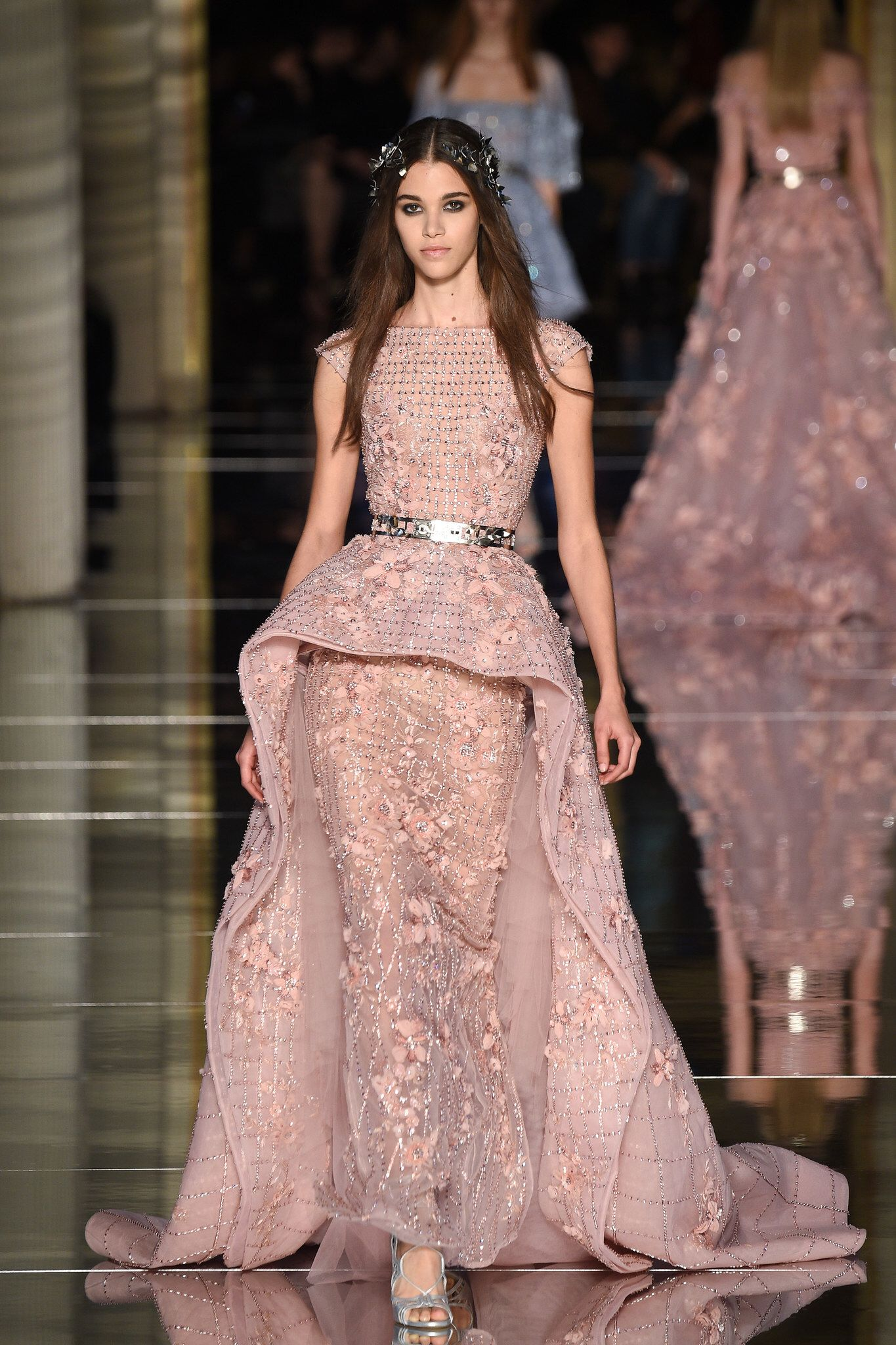Zuhair Murad Spring 2016 Couture Fashion Show   Pinterest   Vestido ...