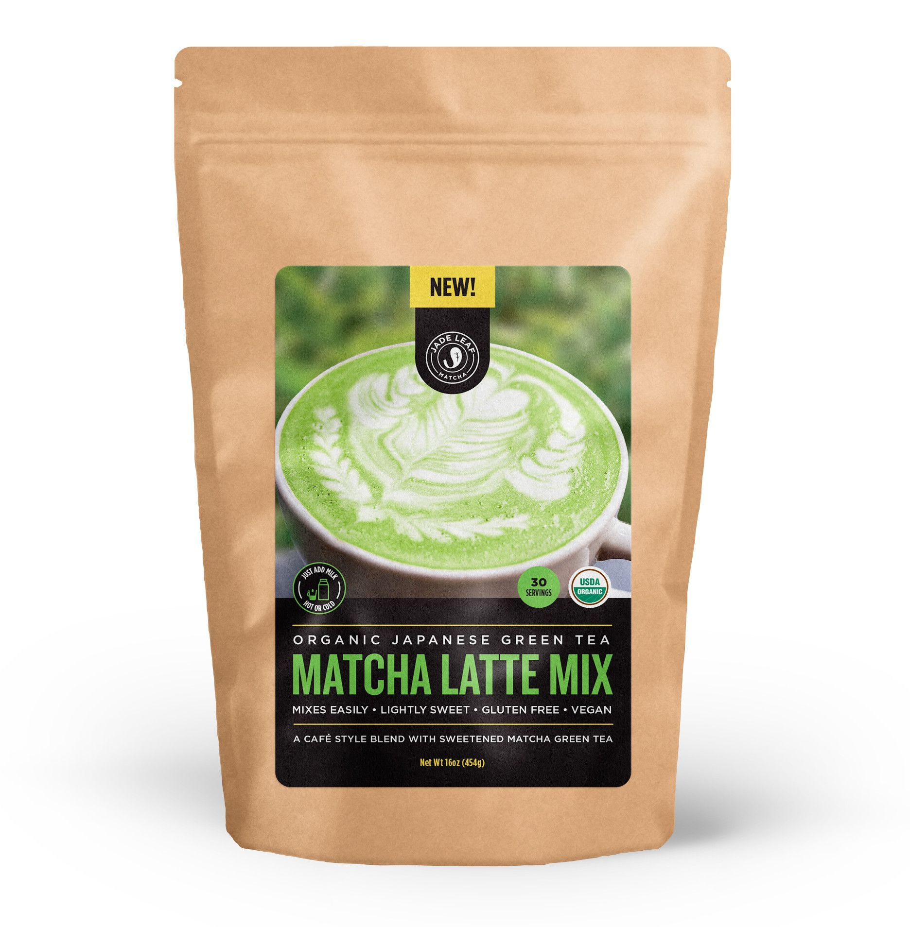 Create delicious matcha lattes at home! Lightly