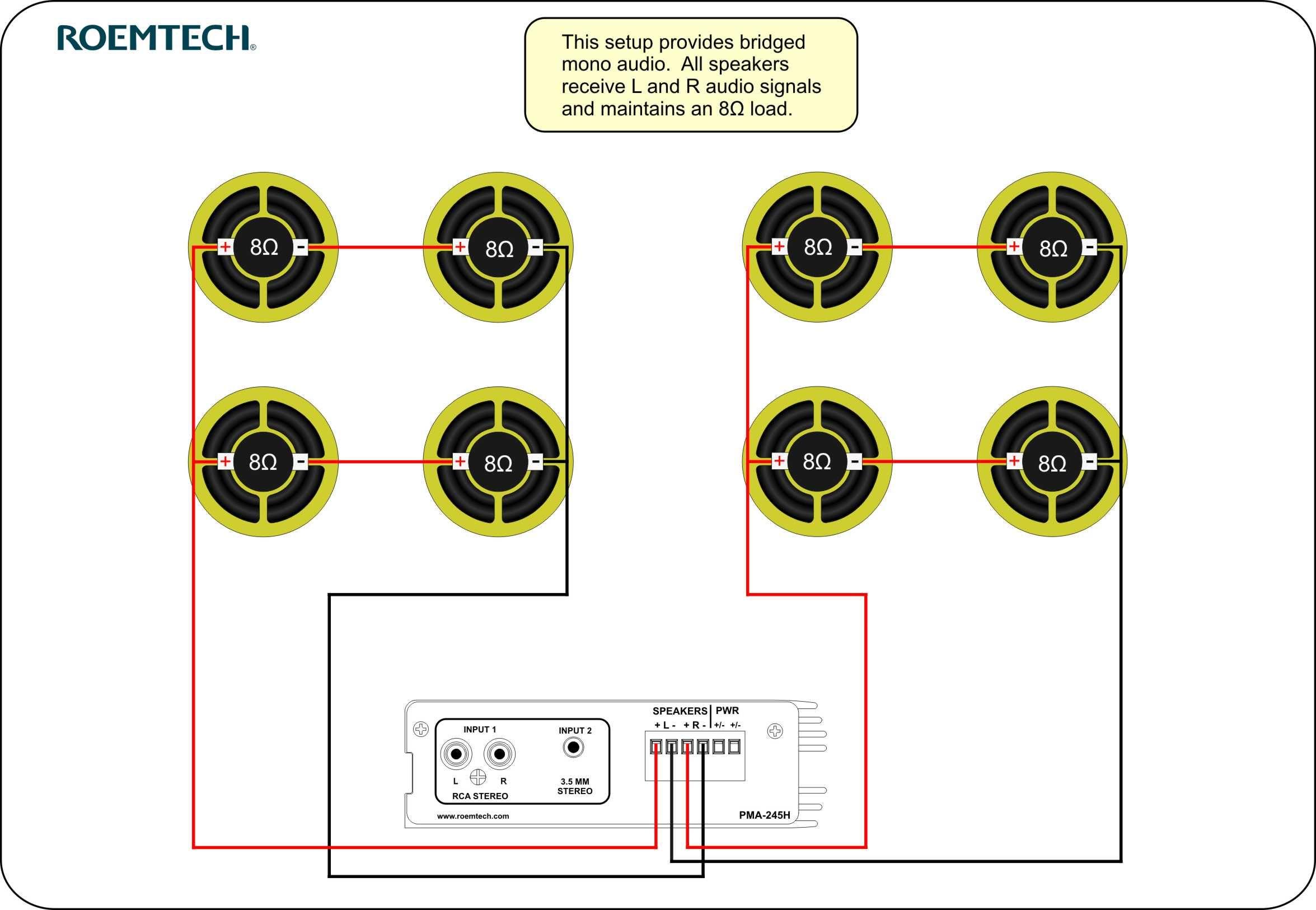 Multiple Speaker Wiring Diagram