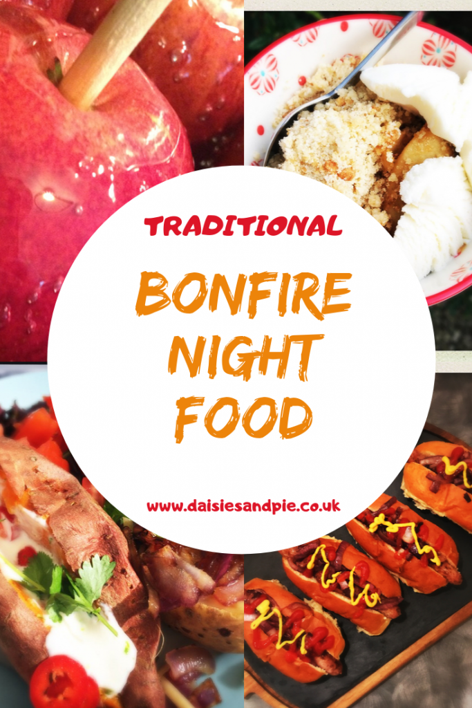 Traditional Bonfire Night Food