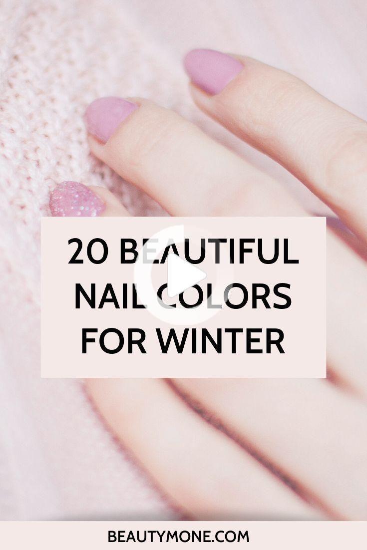 20 beautiful colors of nail polish for winter ⋆ Beautymone [ad_1] 20 Beautiful Nail Colors for … # beautymone # colors # nail polish # glorious
