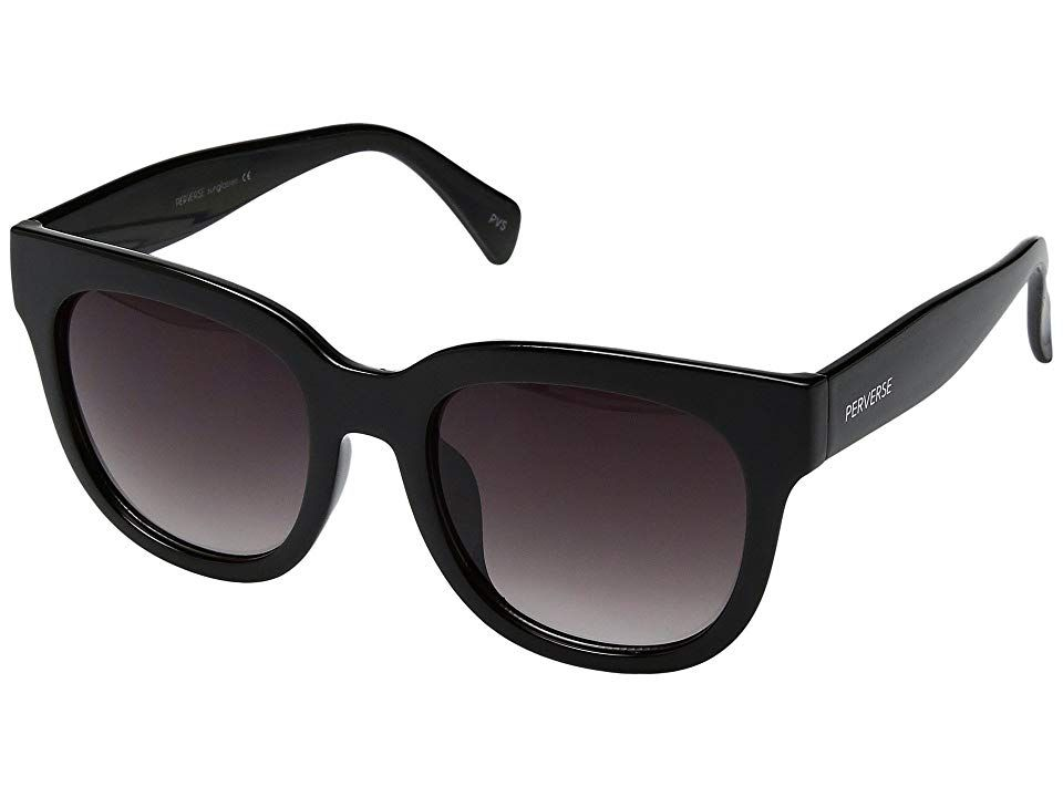 84b2f96182 THOMAS JAMES LA by PERVERSE Sunglasses Dawn Patrol (Dark Glossy Black Black  Gradient) Fashion Sunglasses. For the mornings when you may not have gotten  the ...