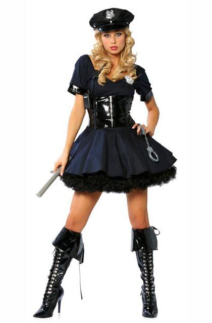 girls police officer halloween costume make a splash this halloween httpadult - Girls Cop Halloween Costume