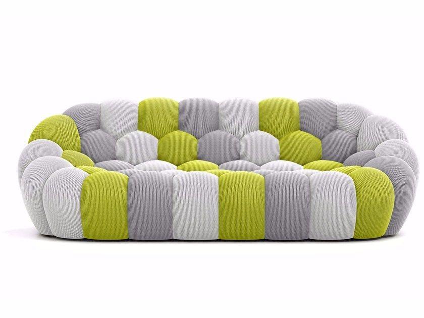 Awesome Fabric Sofa Bubble 3 Seater Sofa By Roche Bobois Knby In Inzonedesignstudio Interior Chair Design Inzonedesignstudiocom