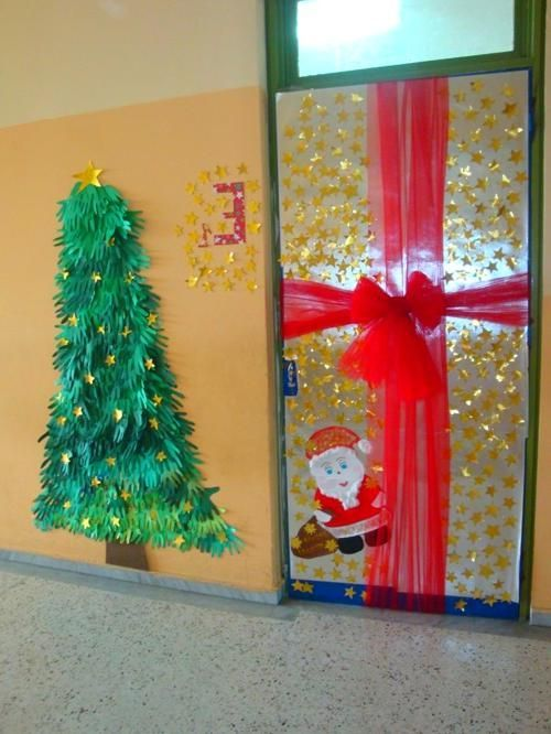 Christmas Door Decorations For Work #christmasdoordecorationsforwork school pinterest-christmas-classroom-door-decoration #christmasdoordecorationsforschool
