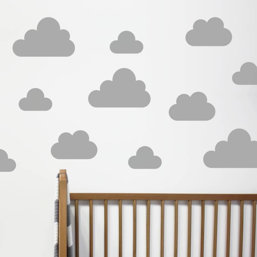 Cloud Wall Stickers  sc 1 st  Pinterest & Cloud Wall Stickers | Child B new bedroom by Iona Bower | Pinterest ...