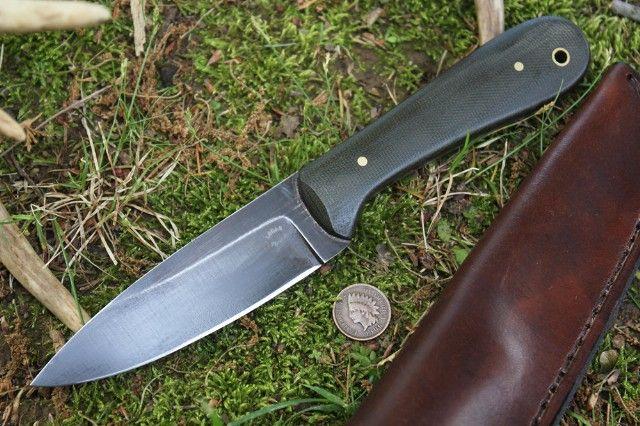 Micarta Bush Knife - BK1 - Lucas Forge