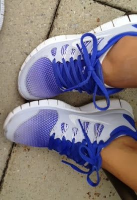 buy popular 57b8d 39b63 blue ombre   Things I love and want   Nike shoes, Nike shoes cheap ...