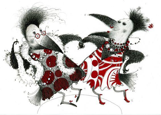 bailando!, ilustración de Бетехтина Татьяна