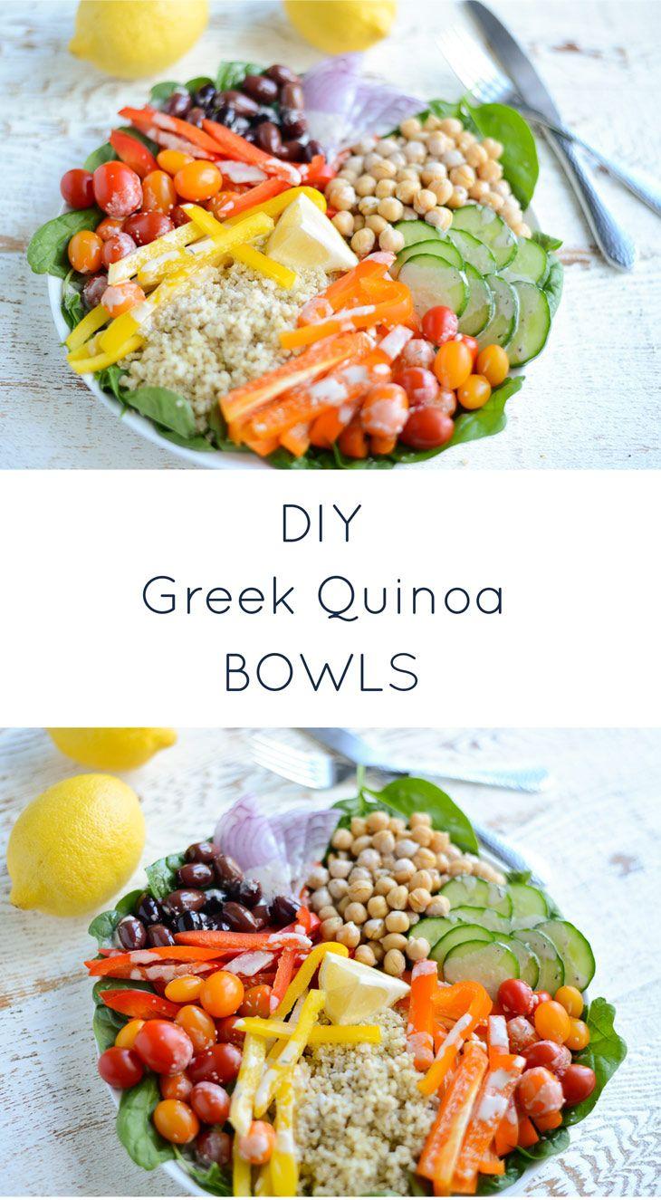 Photo of DIY Greek Quinoa Bowl — Real Food Whole Life