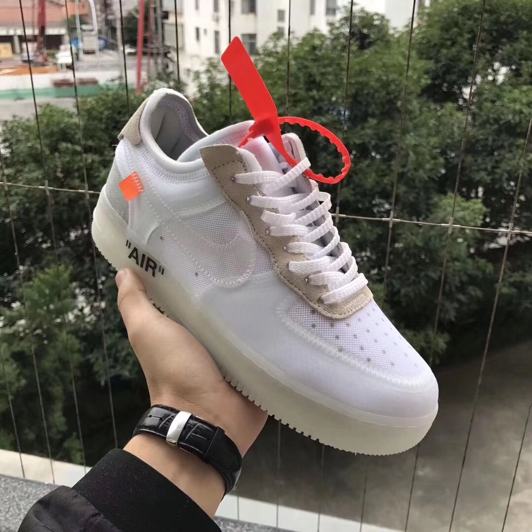 Nike x Off White Air Force 1 (AF 1). #Air #Offwhite