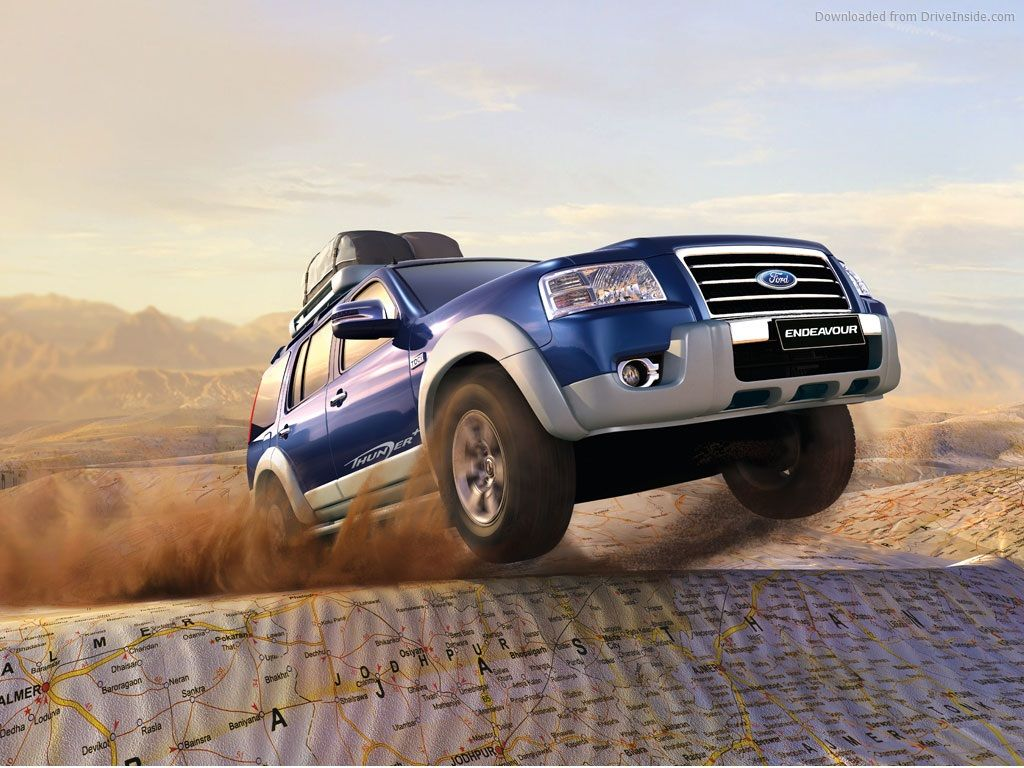 Ford Endeavour HD Wallpaper  Places to Visit  Pinterest  Ford, Hd wallpaper and Wallpaper