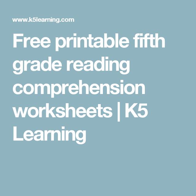 free printable fifth grade reading comprehension worksheets k5 learning 5th grade history. Black Bedroom Furniture Sets. Home Design Ideas