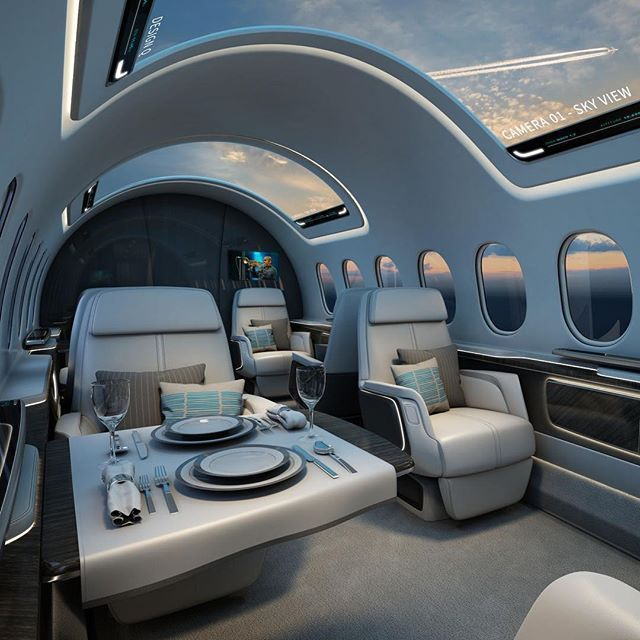 Honda Private Jet Interior: First Class Travel Gets An Upgrade In The Latest Issue Of