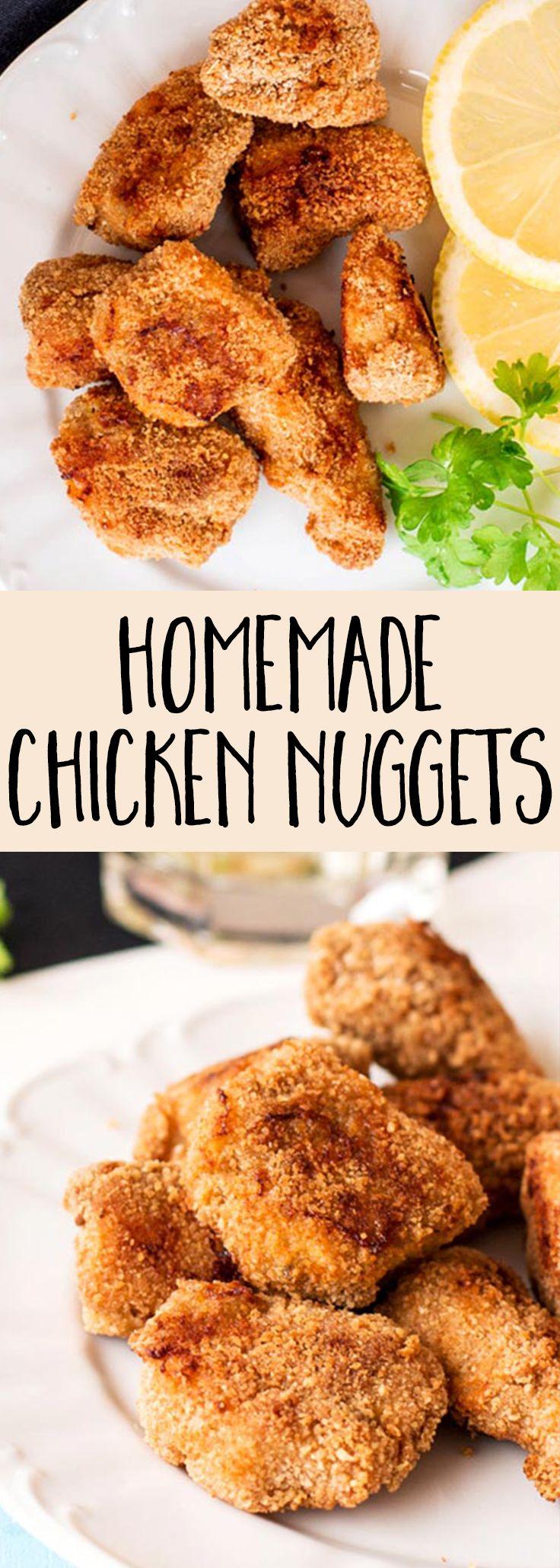 Best 25 Baked Chicken Nuggets Ideas On Pinterest Healthy Chicken Nuggets Breaded Chicken Recipes And Panko Breaded Chicken