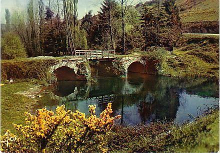 Vieux Pont Sur La Rivière Bretonne