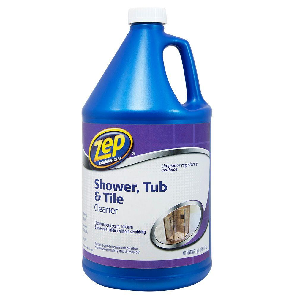 Zep 1 Gal Shower Tub And Tile Cleaner Case Of 4 Products