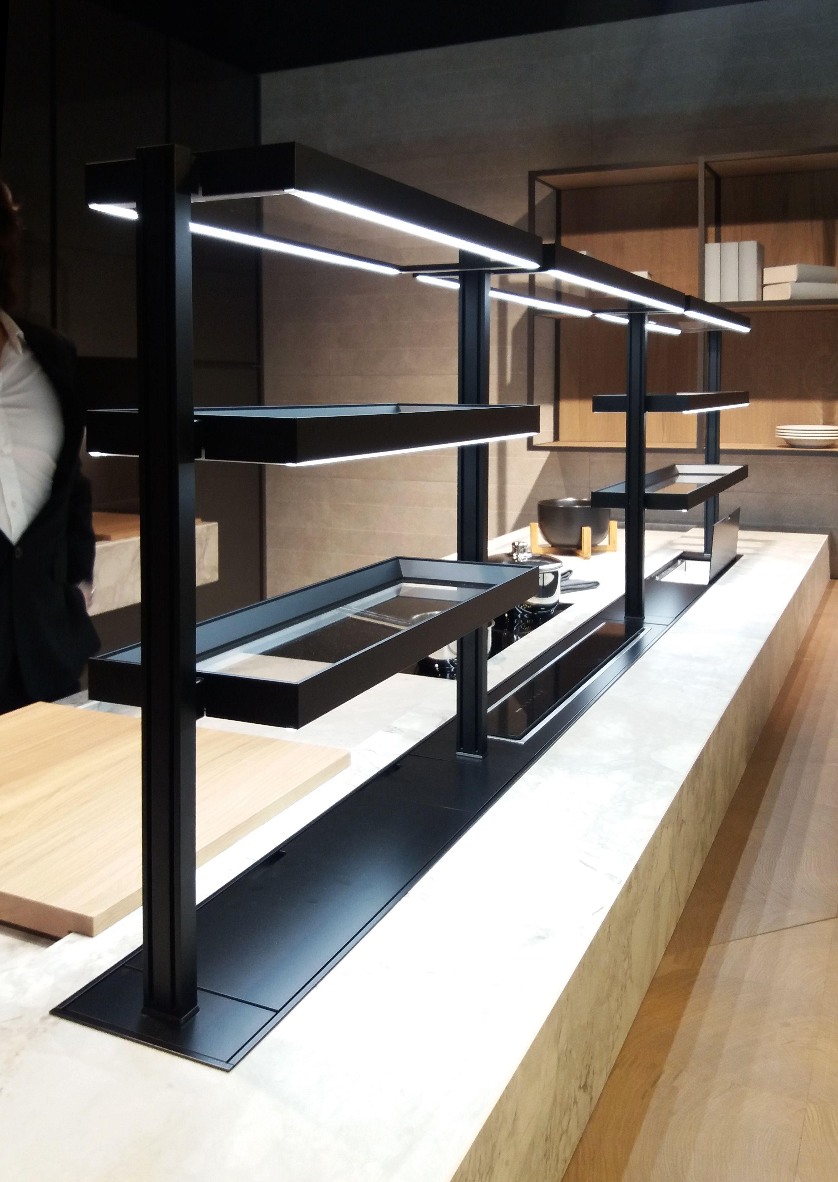 Mensole Cucina Per Canale Attrezzato Domusomnia Easyshelf Kitchen Modular Shelves