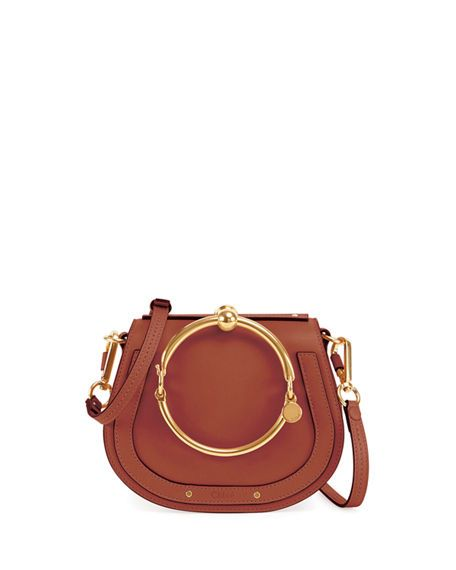 4f1def2896 CHLOÉ Nile Small Bracelet Crossbody Bag.  chloé  bags  shoulder bags  hand  bags  lining  crossbody  suede