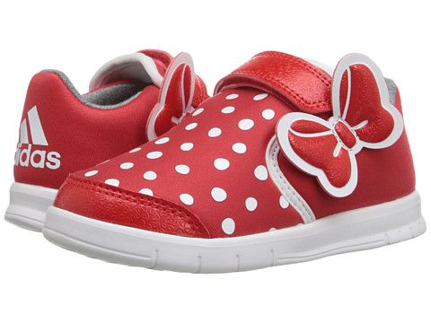 Adidas Disney M M CF I baby shoes Minnie Mouse sneakers red white hook loop NEW