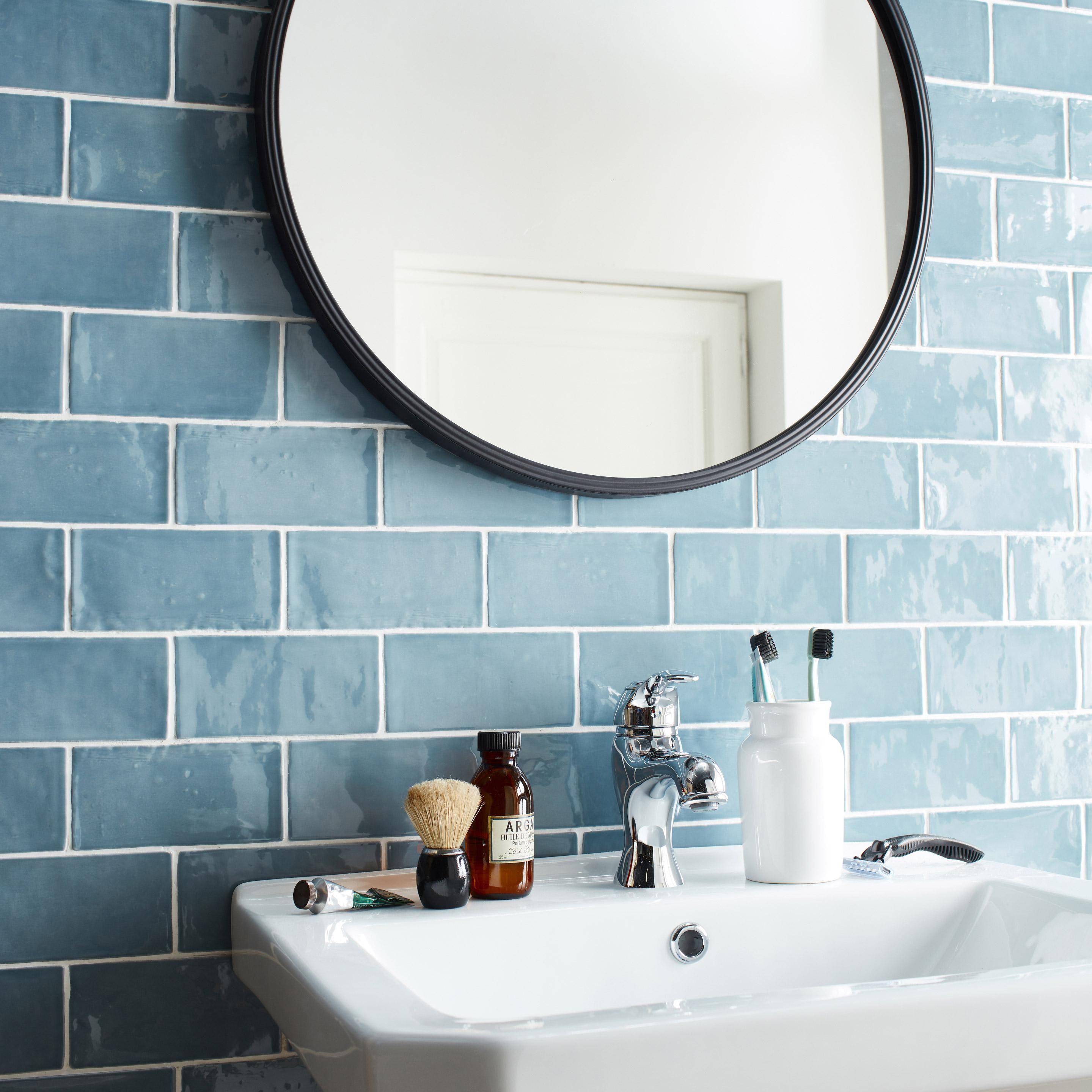 Lavabo Colonne En Ceramique Blanc Sensea Charm En 2020 Lavabo