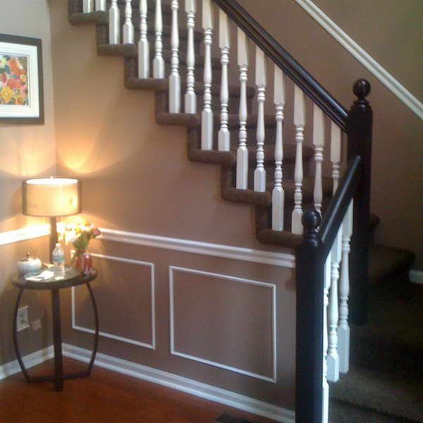 Chair Rail In Hallway Designs Photos | Installing Chair Rail With Decorative