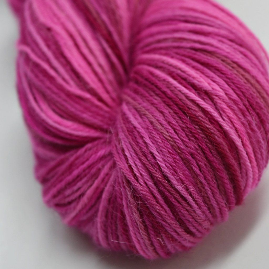 Pink 12242 Hand Dyed 4ply Baby Alpaca Yarn | Shop Wool Online