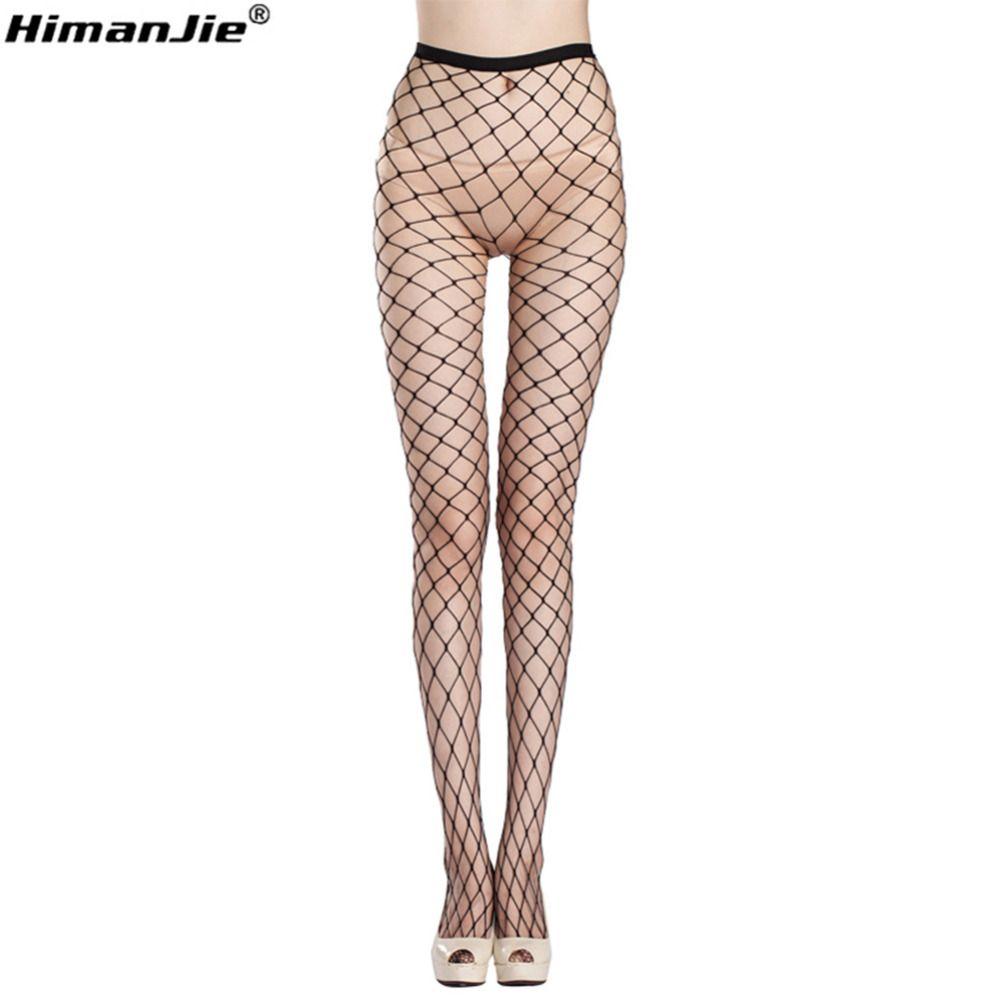 7411700eb5 Hot Sale New Fashion Compression Tights Sexy Women Big Mesh Fishnet Net  Pattern Pantyhose Stockings Tights