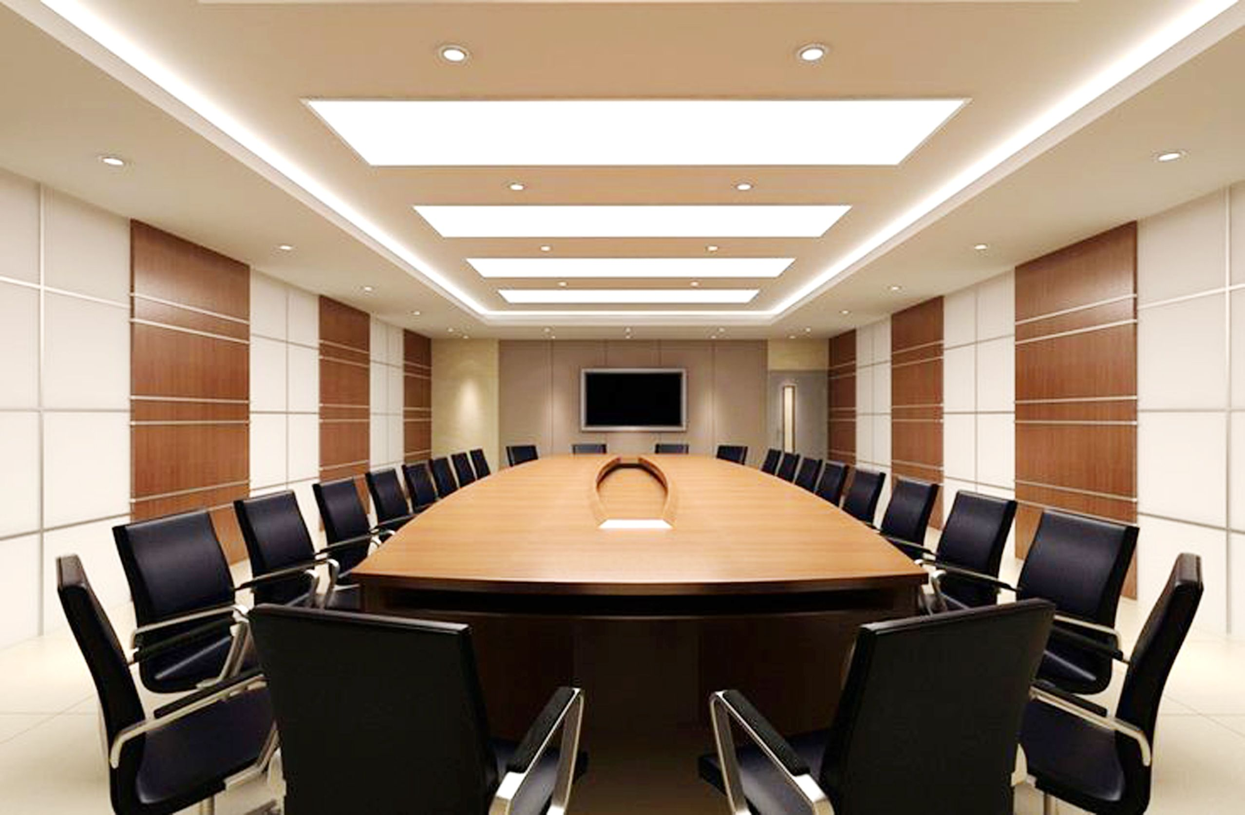 Prijector provides wireless presentation in metting - Interior design ideas for conference rooms ...