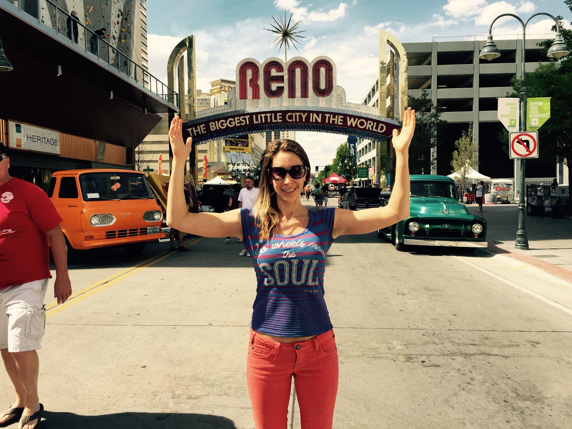Reno for a car show