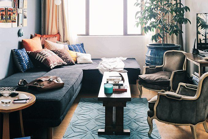Cool Bohemian Style For A 54sqm Condo In Quezon City