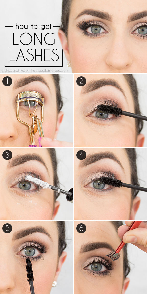How to Get Enormous Looking Lashes | Get long eyelashes ...
