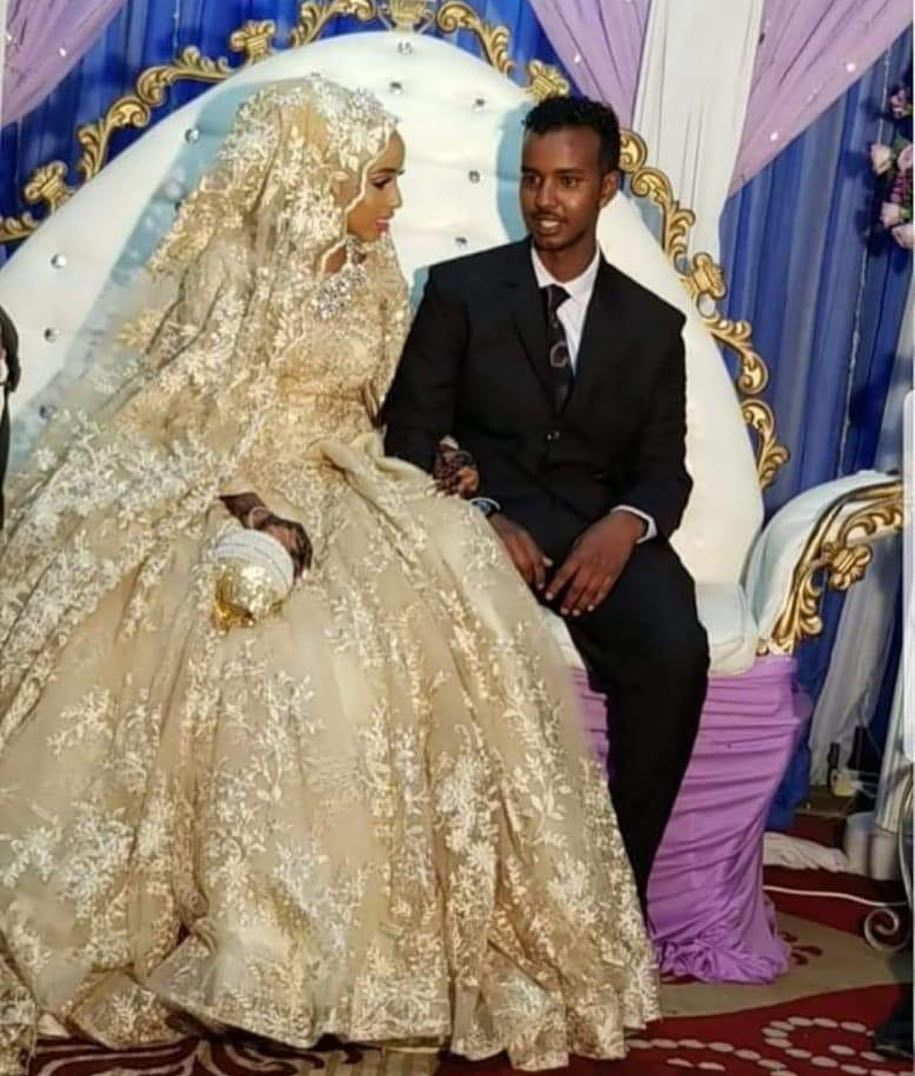 Anisa and her hubby such a beautiful couple ma sha Allah