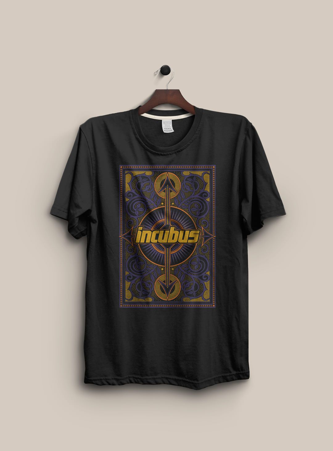 dbabdc3a Alternative rock artists Incubus t-shirts, merch, & apparel graphics for  the bands 2011 national tour and online store. Designed by Jeff Rigsby.