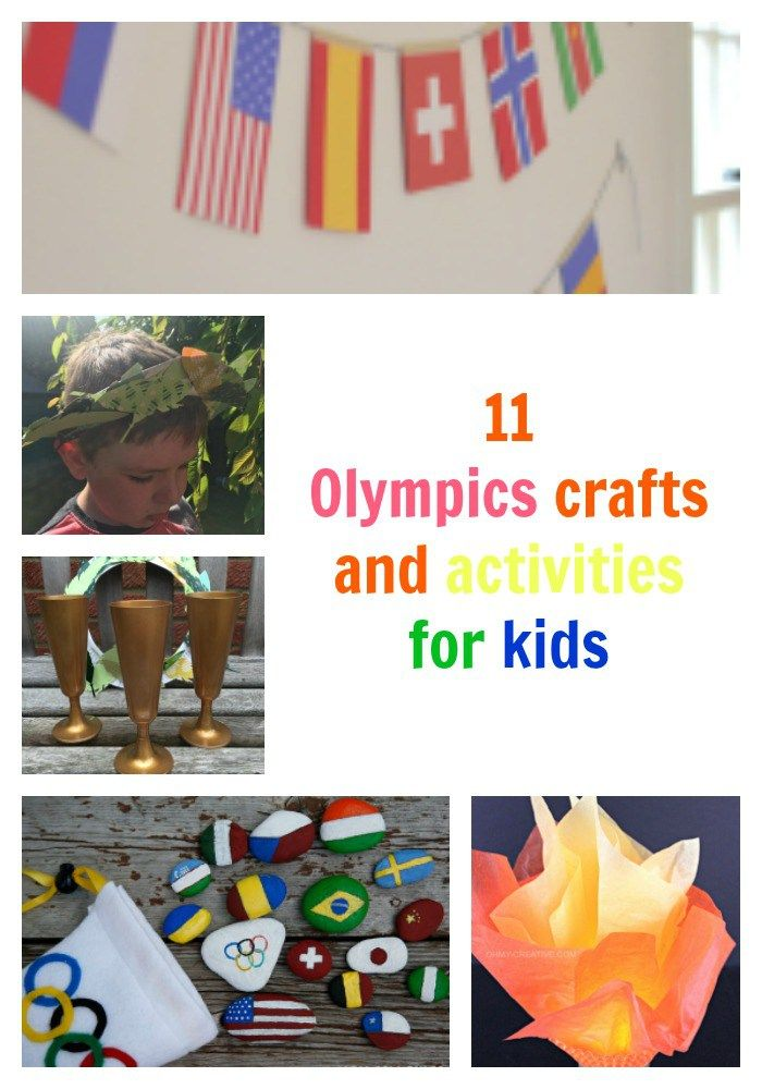 best Olympic crafts and activities for kids