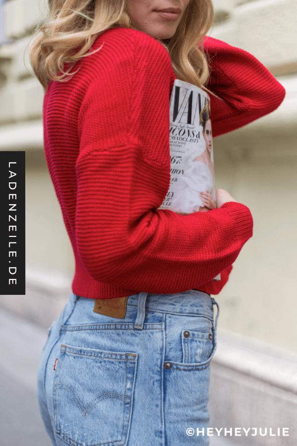 premium selection 11d13 ce80a Rote Damenpullover in 2019 | ℒ Farben | Roter pullover ...