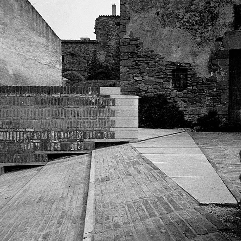 """""""As parts of such a still life, the relics of the past cease to be merely old and instead satisfy our modern desire for the historical""""   Josep Lluís Mateo about the Development of the medieval town of Ullastret, Girona. (1985)"""