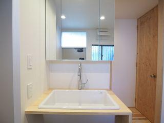 サンワカンパニーのステムズミラーボックスw900 家 洗面台 ボックス