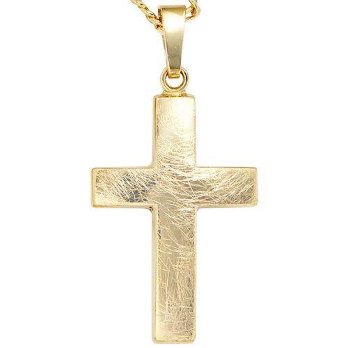 Dreambase Damen-Anhänger Kreuz eismatt 8 Karat (333) Gelbgold Dreambase http://www.amazon.de/dp/B00EYH7P5I/?m=A37R2BYHN7XPNV