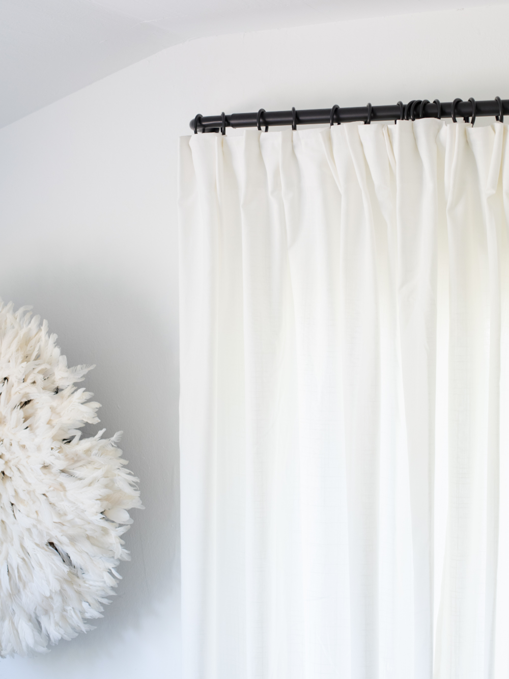 Ikea Kvartal Curtain In 2020: IKEA Hack: Pinched Pleat Curtains In 2020